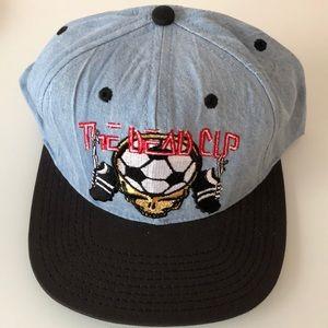 Vintage balzout Grateful Dead denim hat.